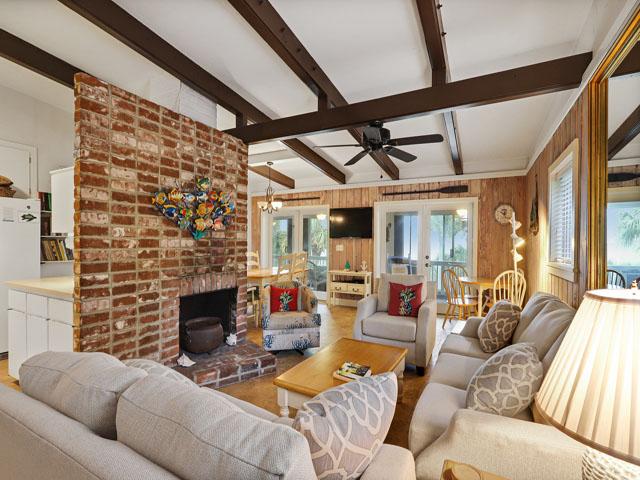 75 Dune Lane - Living Room