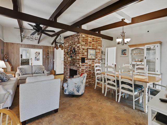75 Dune Lane - Dining Area/Living Room