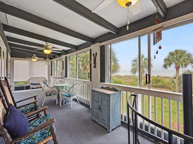 75 Dune Lane - Back porch