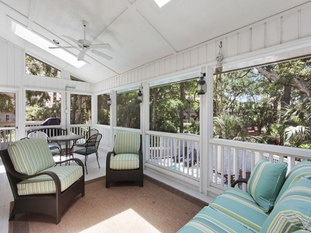 7 Grey Widgeon - Screened porch