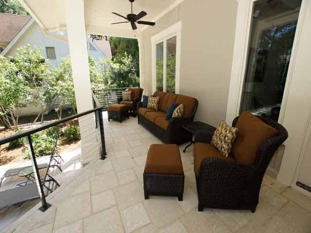 2 High Rigger -  back porch