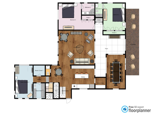 2 High Rigger -  Floor Plan
