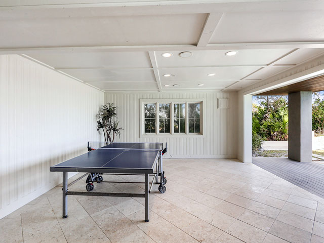 10 Junket- Ping pong table