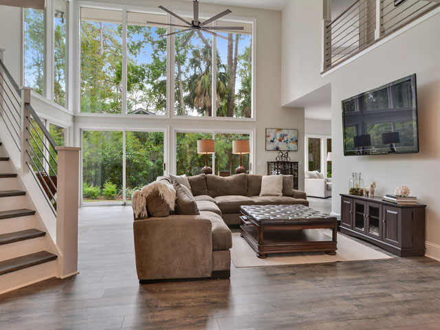 57 North Sea Pines - Living Room