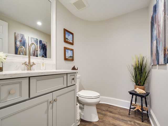 57 North Sea Pines - Half bath