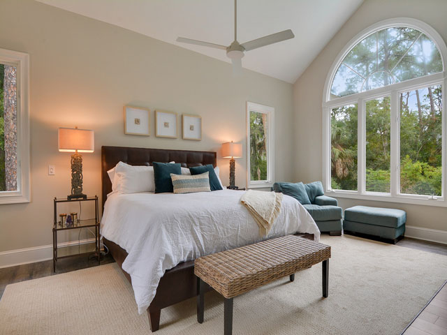 57 North Sea Pines - Master Bedroom