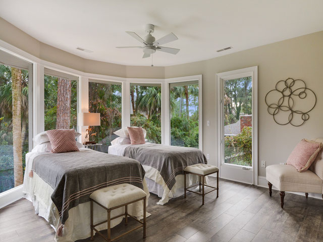57 North Sea Pines - Twin Bedroom
