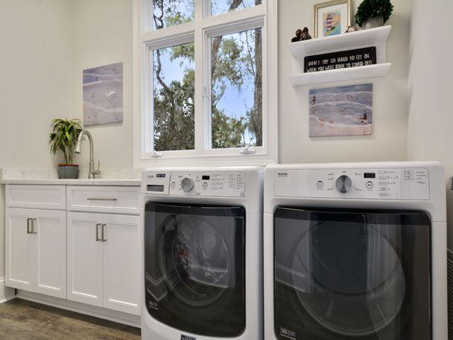 57 North Sea Pines - Laundry Room