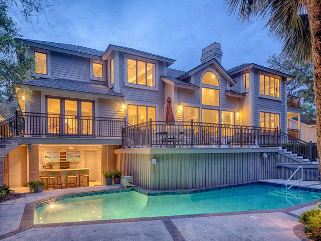 20 Sea Oak-Back of home /pool
