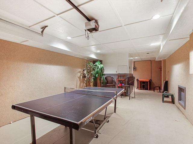 basement ping pong table