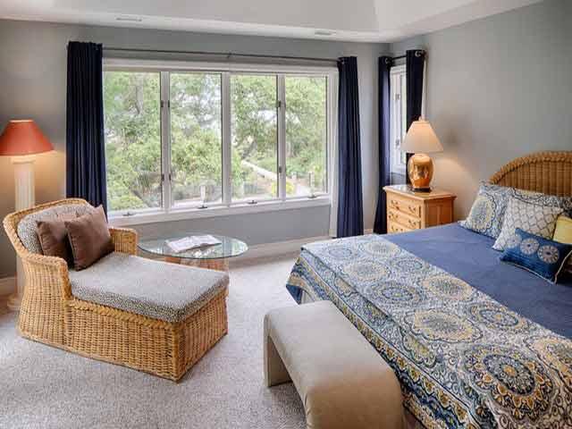 20 Sea Oak - Blue Bedroom