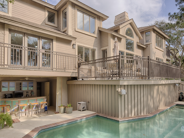 20 Sea Oak - Back of home pool
