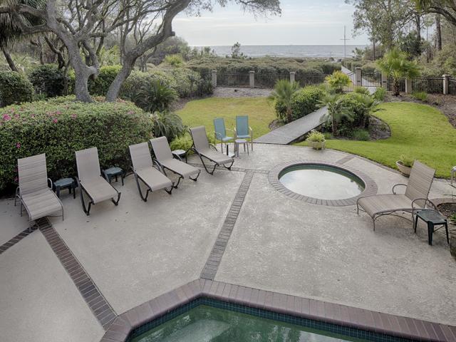 20 Sea Oak - Back of home pool area