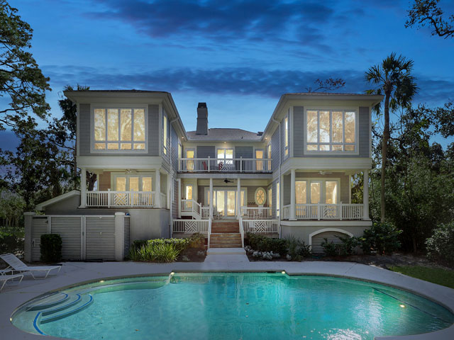4 Brigantine-Back of house/pool