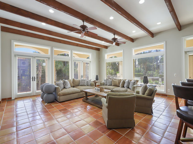 7 Brigantine- Living room
