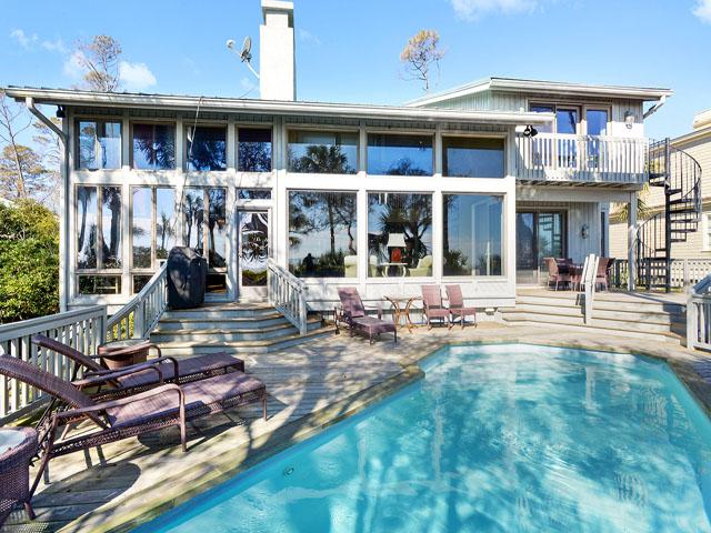 12 Brigantine - Pool/ Back of House