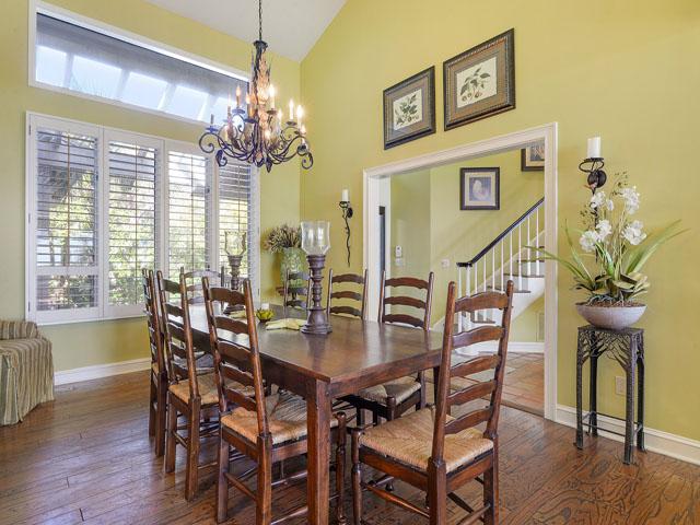 12 Brigantine - Dining Room table