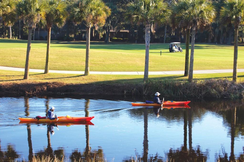 kayaking in PD