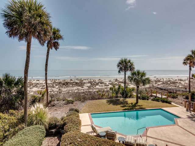 17 Brigantine - Pool with beach view
