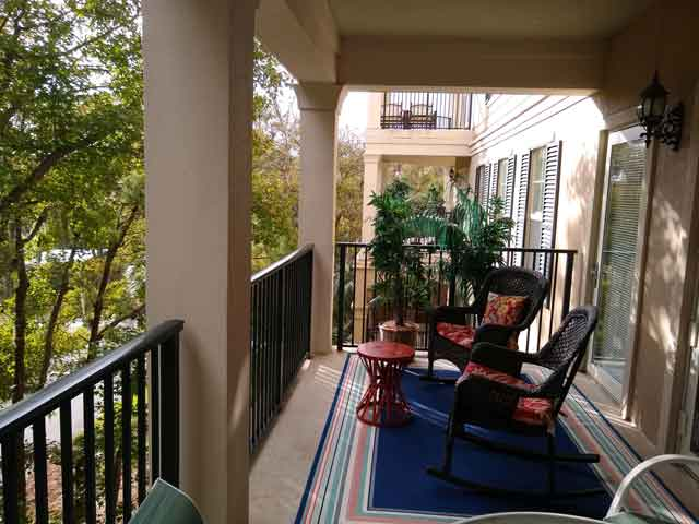 307 Northshore Place - Balcony