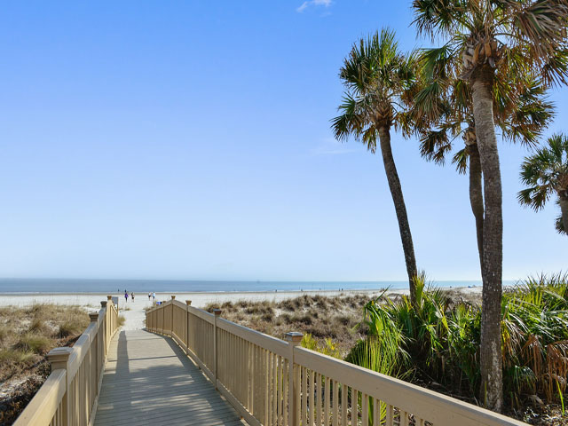 Hampton Place 6201 - Walkway to the beach
