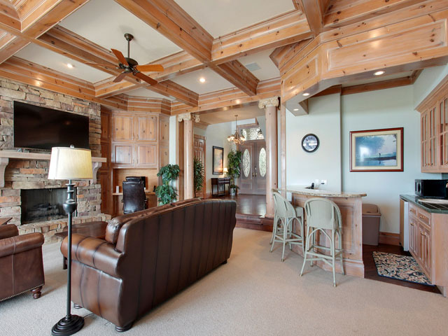 11 Iron Clad- Living room downstairs