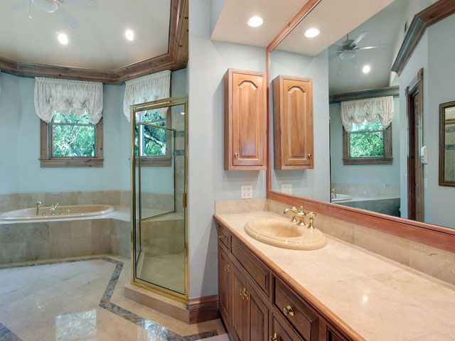 11 Iron Clad- Master bathroom
